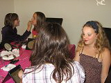 make-up feestje tieners thuis Flevoland